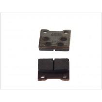 Pastiglie Freno Rear 52 7x56 4x8 6mm