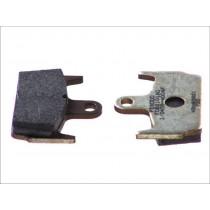 Pastiglie Freno Rear argento-AG 59 1x44 6x9 6mm HONDA X8R/ SZX