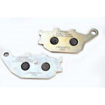 Pastiglie Freno Rear argento-AG 86 1x40 2x8 9mm