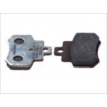 Pastiglie Freno Rear argento-AG 55 6x46x7mm KYMCO GRAND DINK 250 2001-