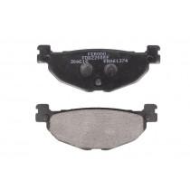 Pastiglie Freno Rear eco friction-EF 100 1x38 3x12mm