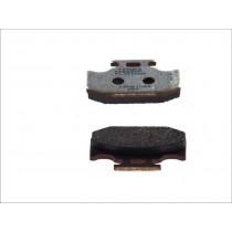 Pastiglie Freno Rear 62 1x40 9x9 4mm KAWASAKI KLX KX