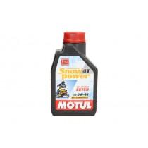 Olio motore 4T MOTUL Snowpower 0W40 1l SL